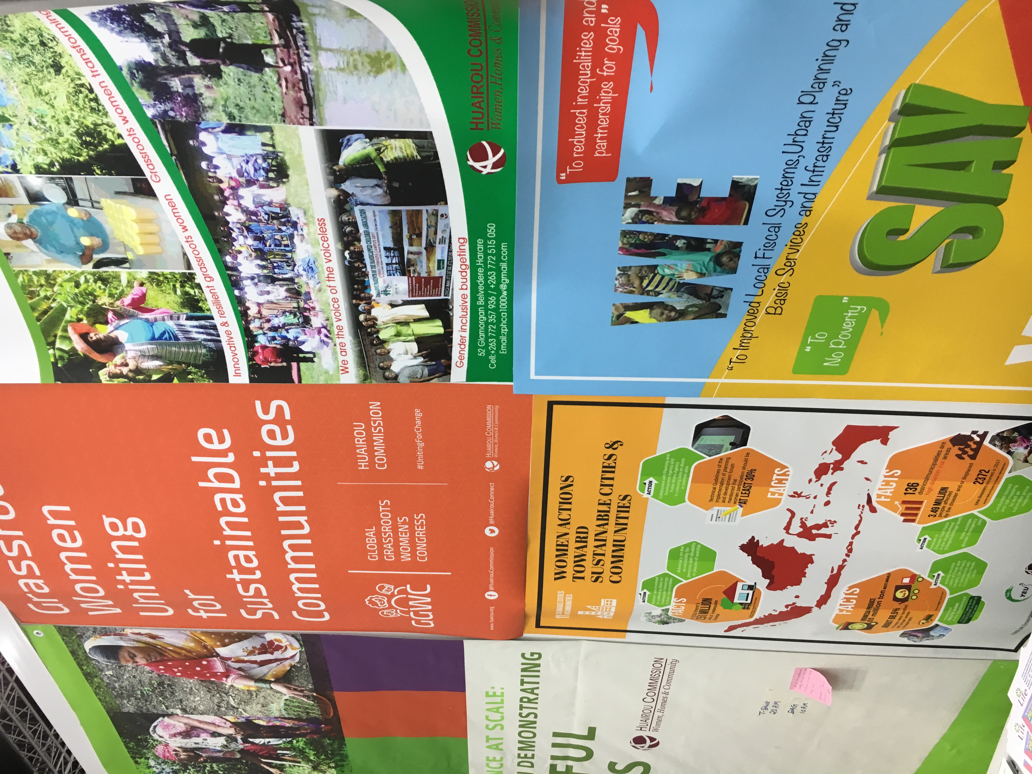 WUF 9 Posters