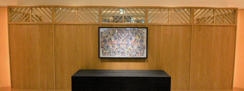 Artworks for Point line at Yutenji station,Japan