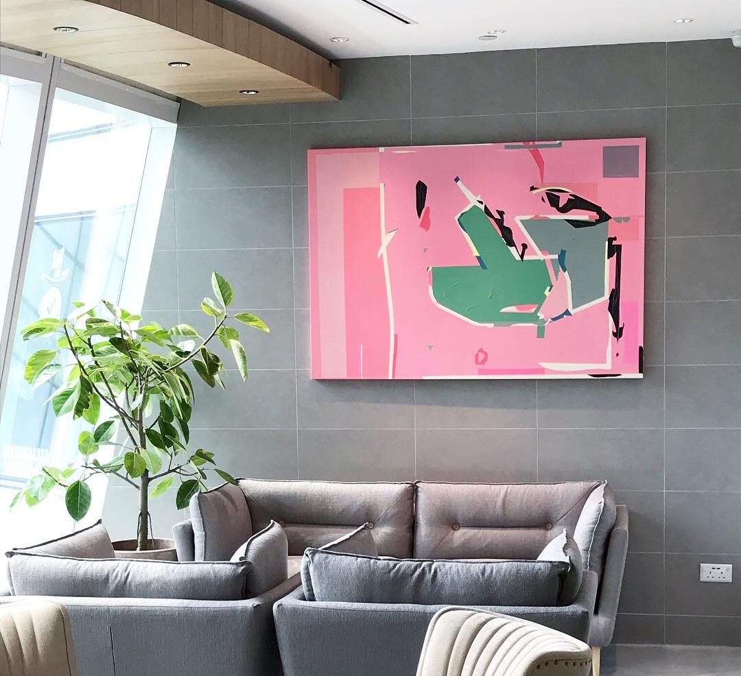 artworks for LUMINE Singapore