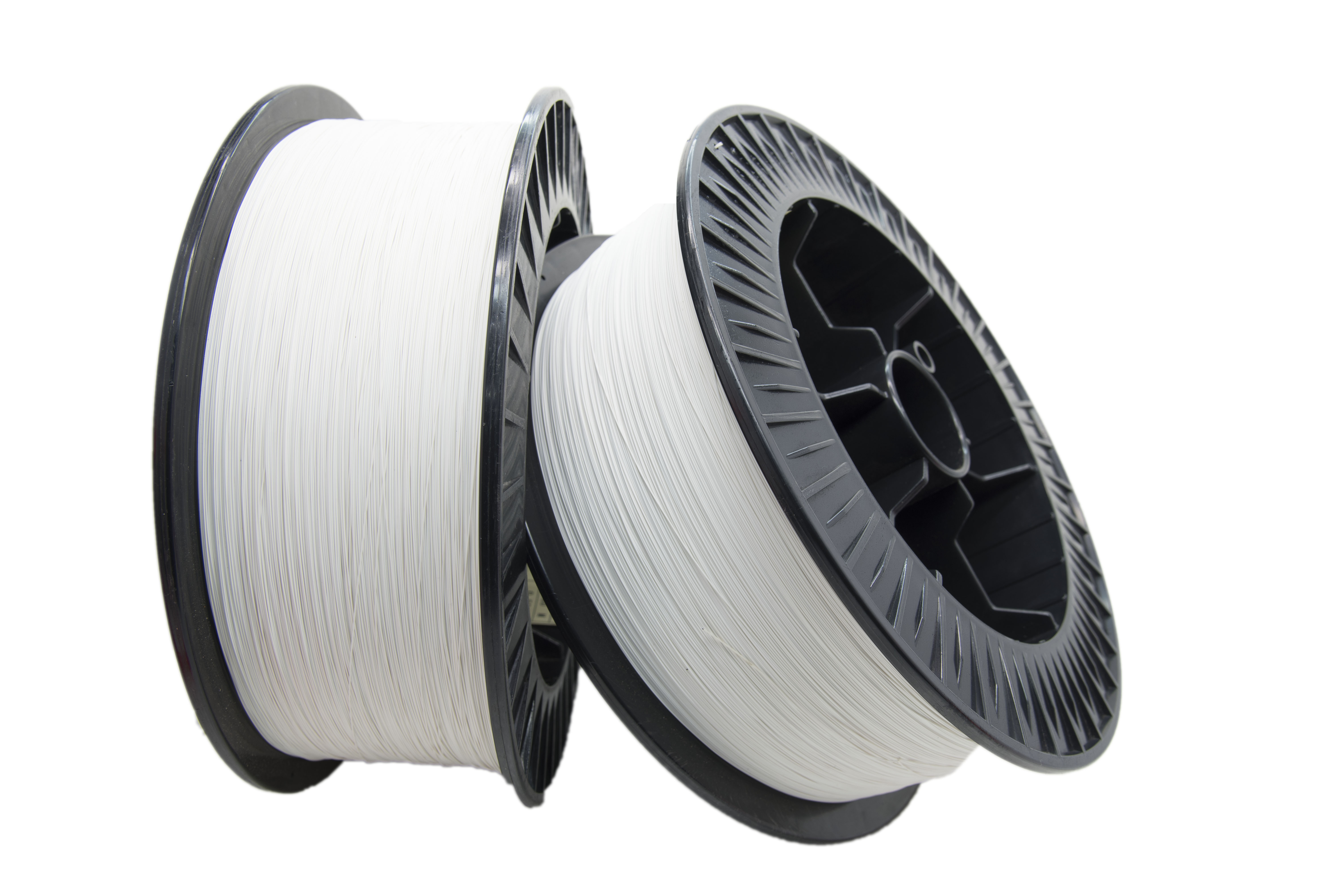 White Wrapping Ag wire