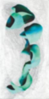 Entwurf einer GiraffeII_Eitempera-Leinen