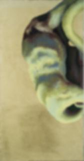Manische Massen | egg-tempera on canvas | triptych: 82,68 x 129,92 in | 210 x 330 cm 2013, green, painting, fine art, contemporary art, international art exhibition, artist