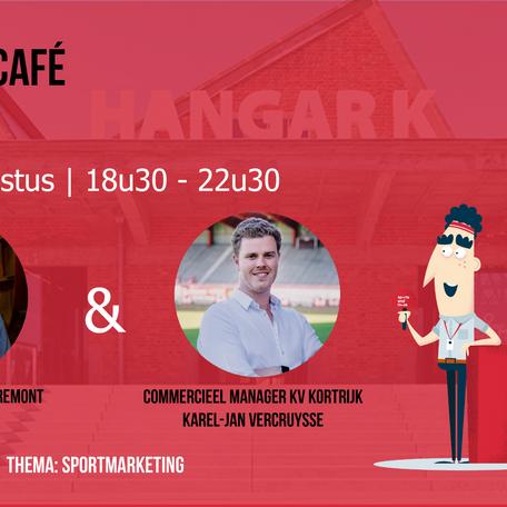 Eerste Experience café op 19 augustus 2020: Thema sportmarketing. Wees er snel bij!