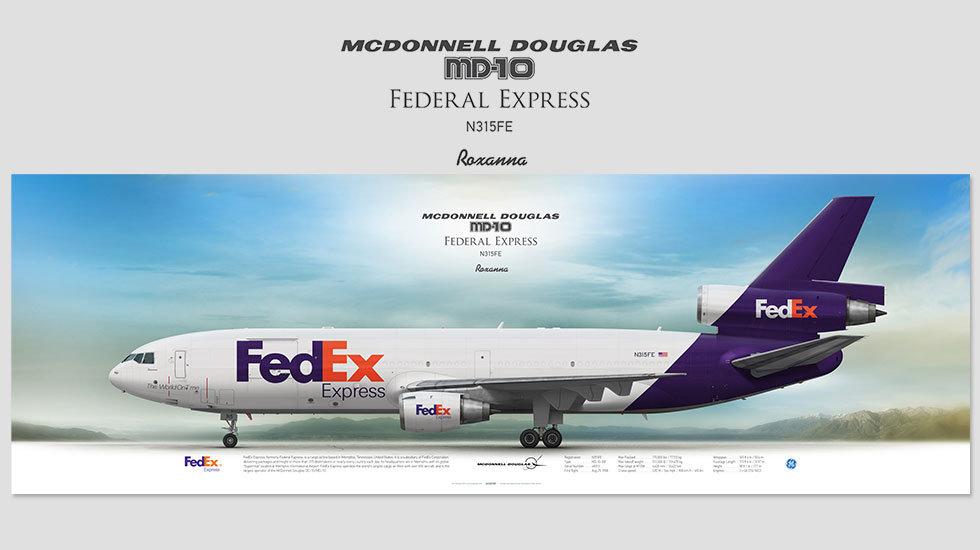 FedEx Express McDonnell Douglas MD-10 N315FE
