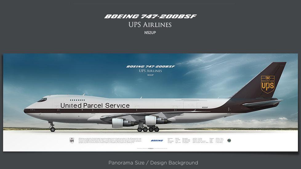 UPS Airlines Boeing 747-200 N522UP
