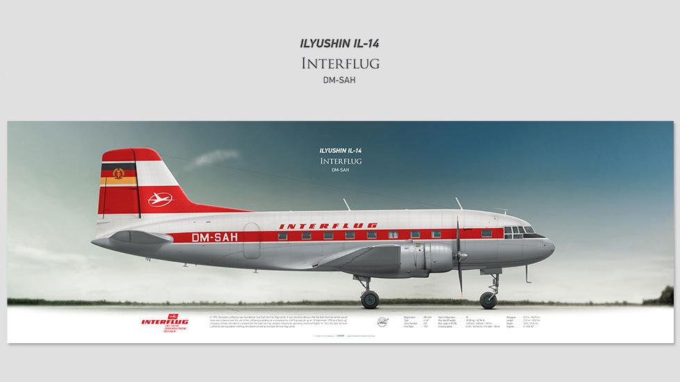 Interflug Ilyushin Il-14 DM-SAH