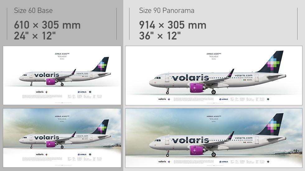 Volaris Airbus A320neo N530VL
