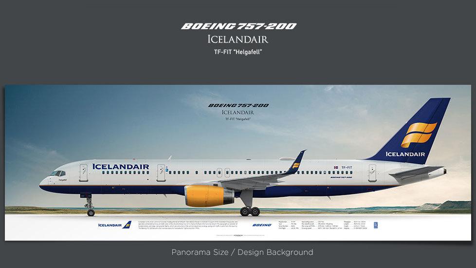 Icelandair Boeing 757-200 TF-FIT