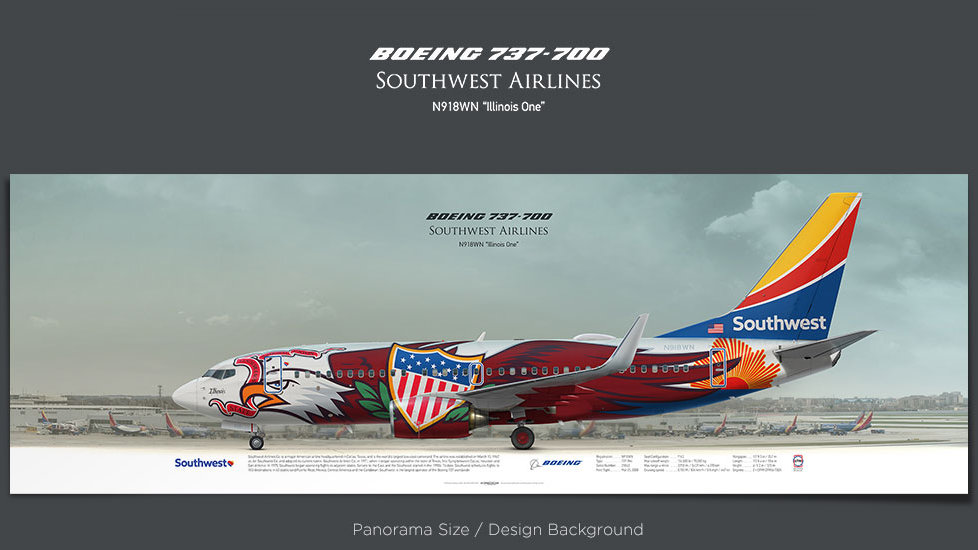 Boeing 737-700 Southwest, plane prints, retired pilot gift, aviation posters, airliners prints, plane image, aircraft prints