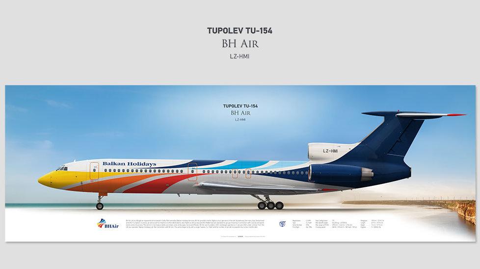 BH Air Tupolev Tu-154 LZ-HMI