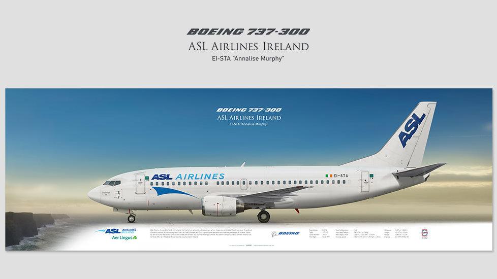 ASL Airlines Ireland Boeing 737-300 EI-STA