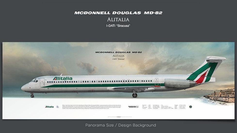 Alitalia McDonnell Douglas MD-82 I-DATI