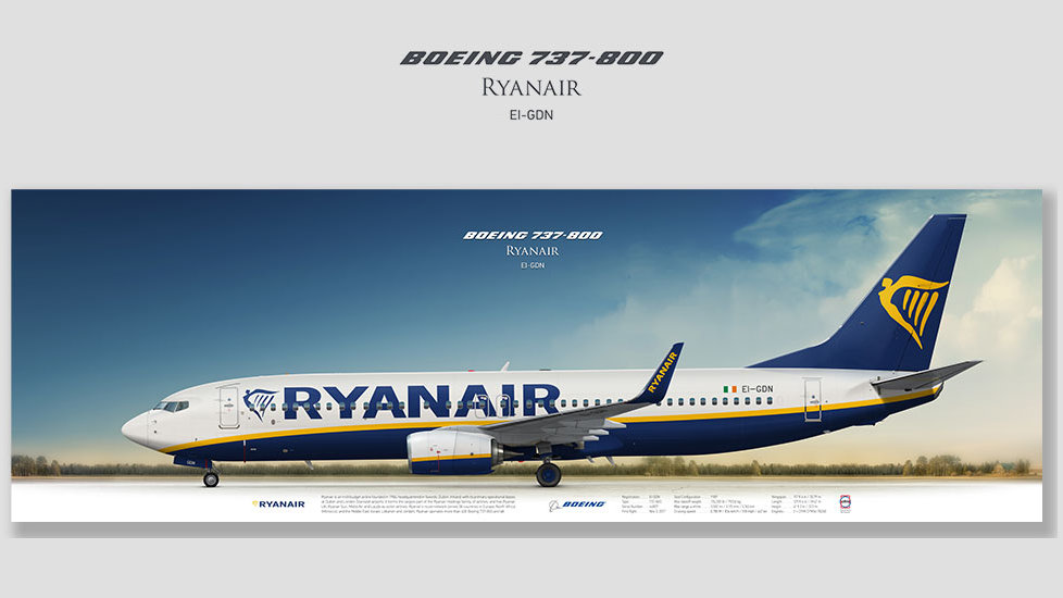 Ryanair Boeing 737-800 EI-GDN
