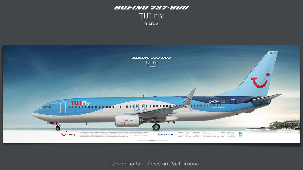 TUI fly Boeing 737-800 D-ATUM