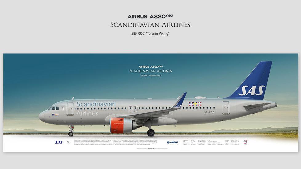 Scandinavian Airbus A320neo SE-ROC