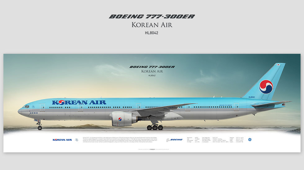 Korean Air Boeing 777-300ER HL8042