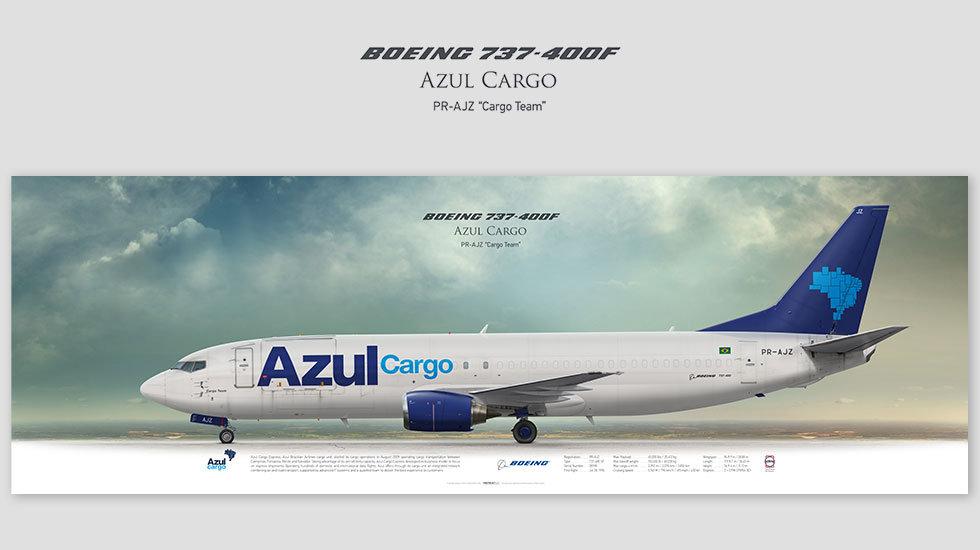 Azul Cargo Boeing 737-400F PR-AJZ