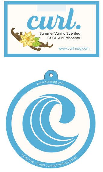 Curl Vanilla Air Freshener