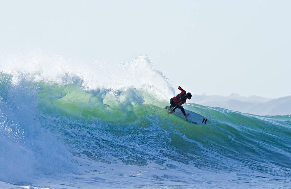 Gabby photo by Corey Scott NZ surfing mag