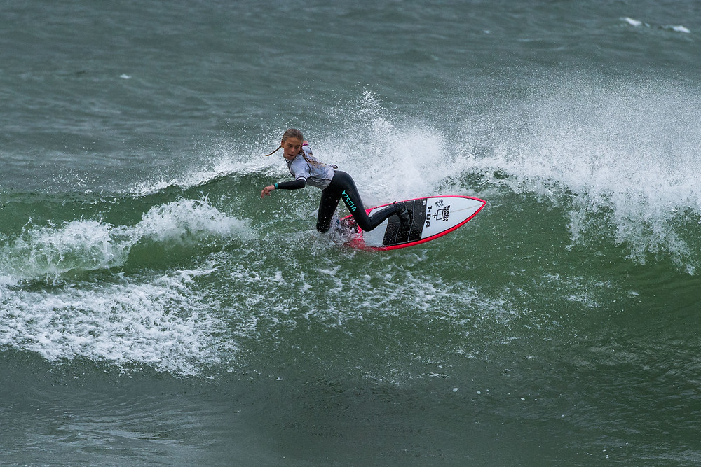 Natasha Gouldsbury photo credit Matt NZ surf photography