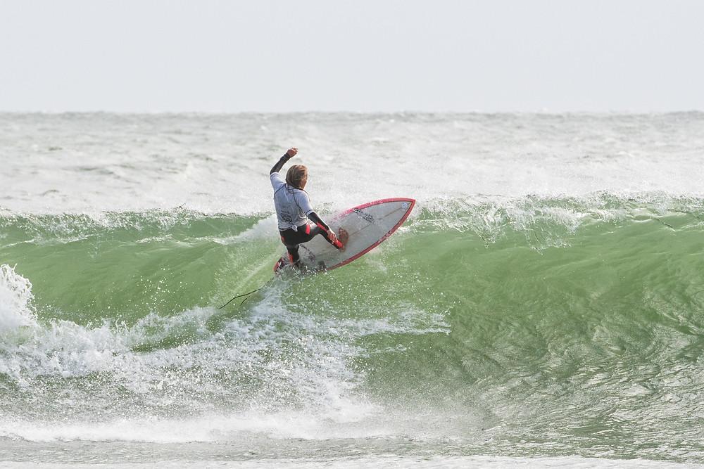 Brie Bennett (Rag) Photo  credit Matt  NZ Surf Photography