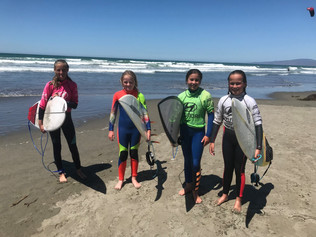 Local brand Seventh Wave supports Canterbury Woman's Surf Champs