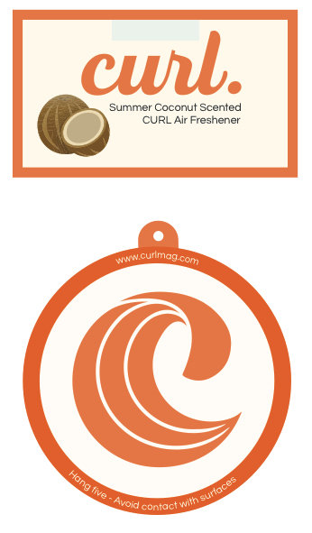 Curl Air freshener Coconut