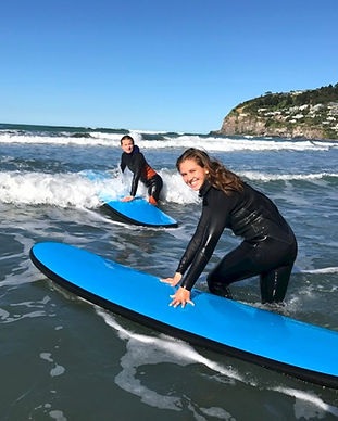 Adult Surfing Lessons - Sumber Beach Christchurch