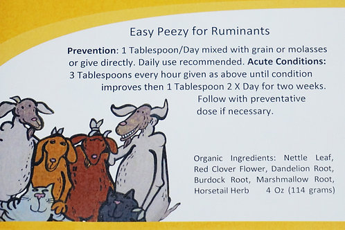 Easy Peezy for Ruminants