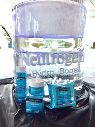 Staying hydrated with Neutrogena
