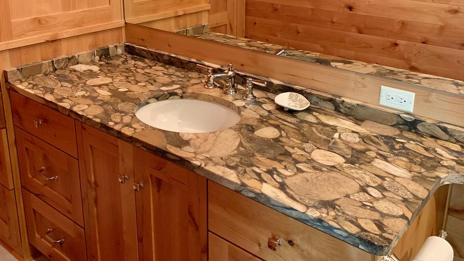 Pebble Granite Vanity in Sturgeon Bay WI