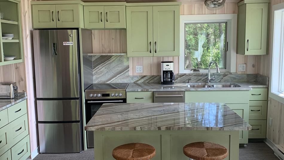 Fusion Granite Kitchen in Door County