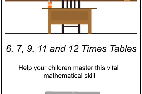 Mastering Times Tables - 6s, 7s, 9s, 11s and 12s