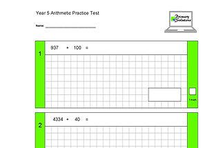 Arithmetic Practice Tests - Y5.jpg