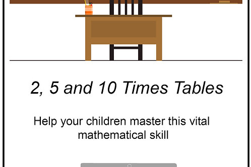 Mastering Times Tables - 2s, 5s and 10s