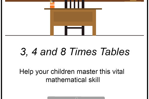 Mastering Times Tables - 3s, 4s and 8s