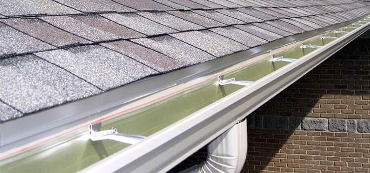 new seamless aluminum gutters