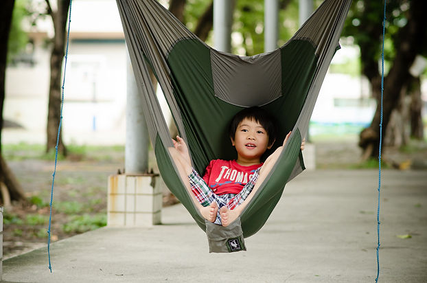 Kids love chammock hanging chair