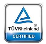 TUVRheinland certified