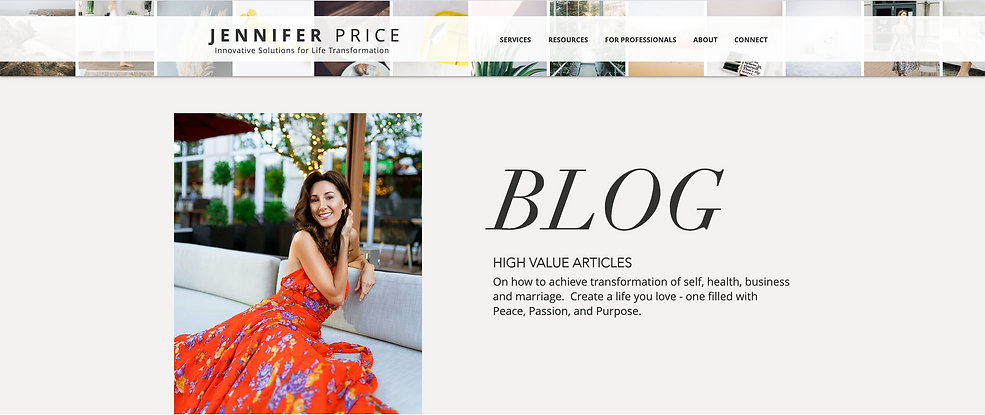 Jennifer Price | Blog Articles