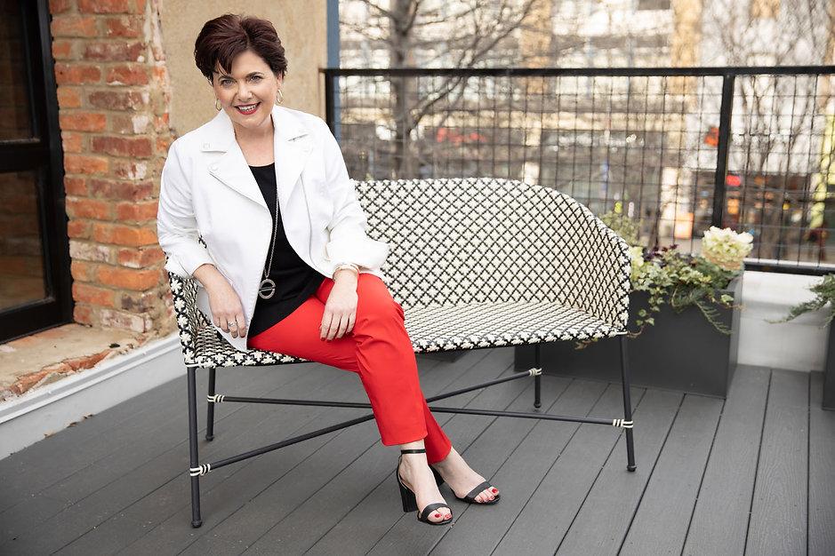 Mary Foley_Sitting Outside_KimBrundagePh