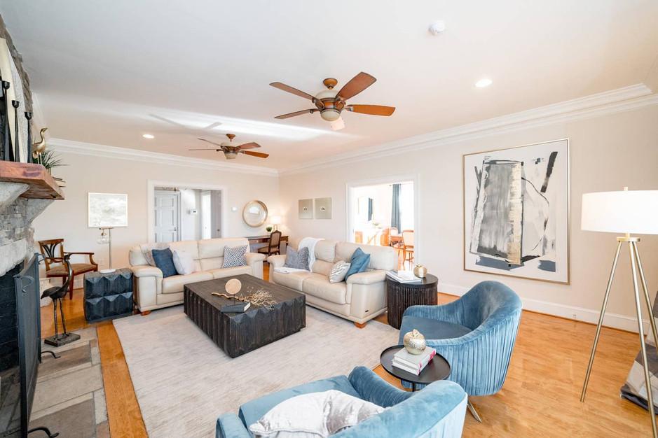 Retreat House - main living area