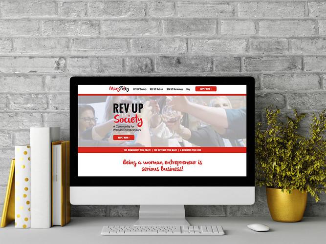 Mary Foley - REV UP Society Website
