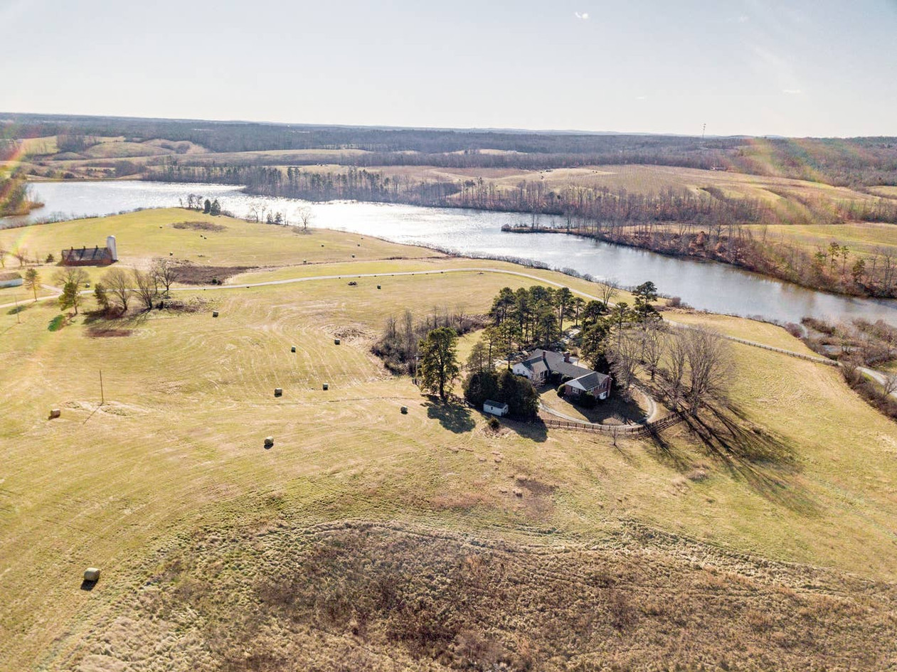 Retreat House - birds eye view