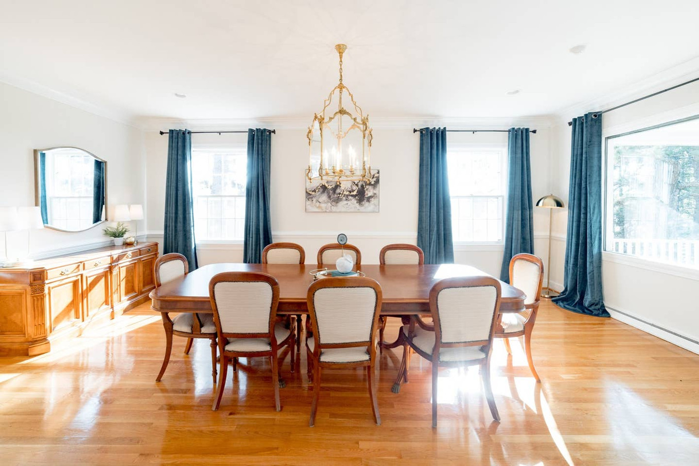 Retreat House - dining room