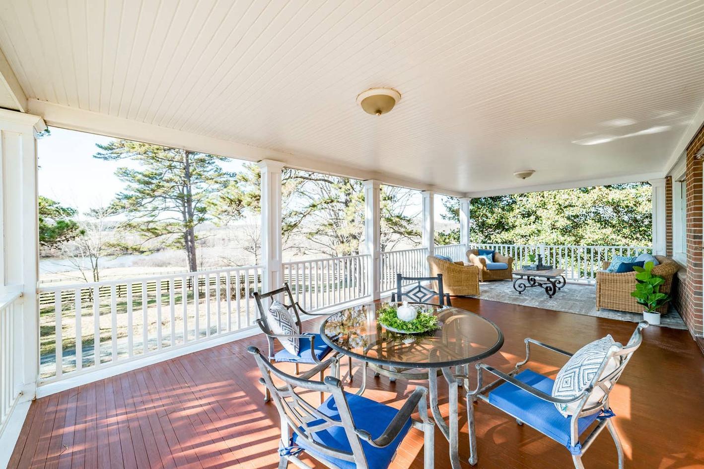 Retreat House - porch