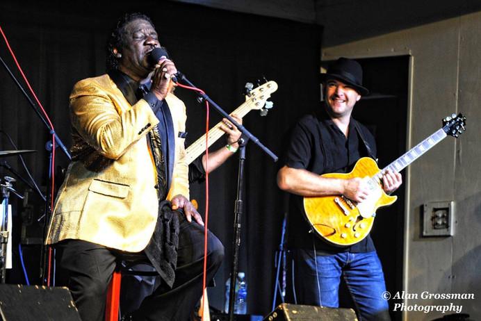 Mud Morganfieldand Brian Mesko, Blues Fest