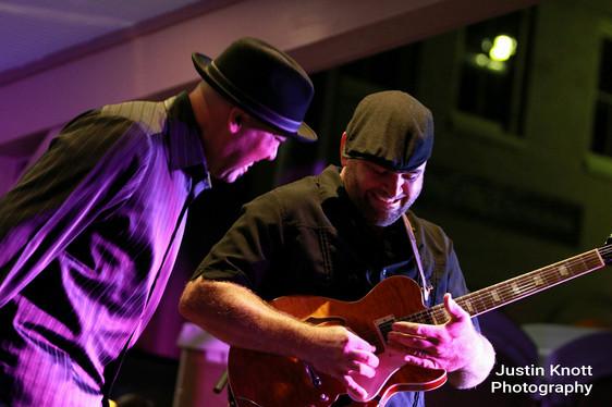 Brian Mesko and Mojo Parker