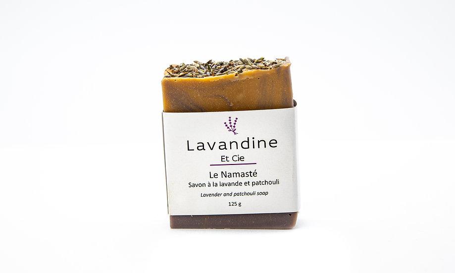 Le Namasté - Savon à la lavande et patchouli