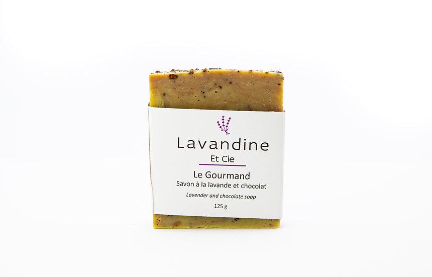 Le Gourmand - Savon à la lavande et chocolat